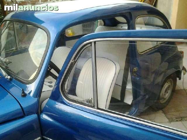 SEAT 600 TAPIZADOS ASIENTOS,  PUERTAS . . .  - foto 3