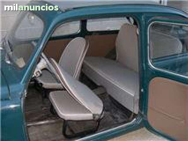 SEAT 600 TAPIZADOS ASIENTOS,  PUERTAS . . .  - foto 5