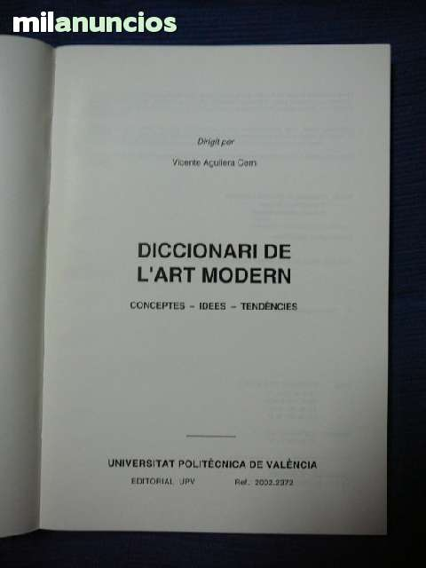 DICCIONARI DE L ART MODERN - foto 3