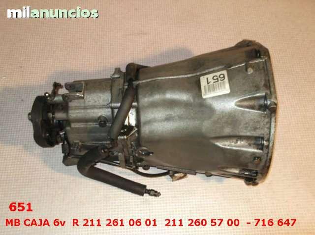 CAJA DE CAMBIOS 6V MERCEDES W211 220 - foto 8
