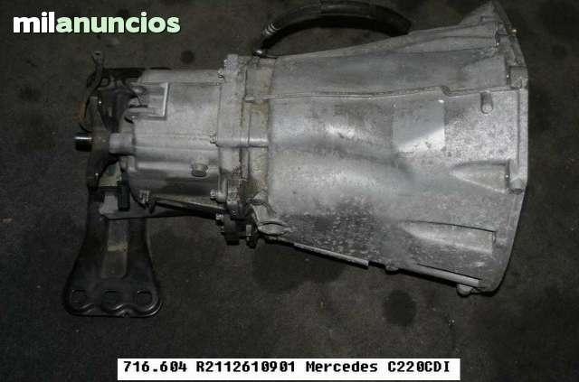 CAJA DE CAMBIOS 6V MERCEDES W211 220 - foto 9
