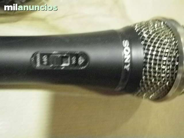 SONY MICROFONO PROFESIONAL F-VJ 10