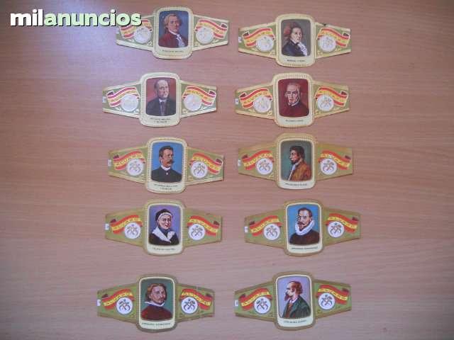 27 Vitolas Serie Escultores