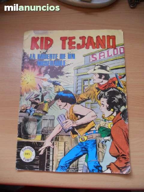 Cómic Kid Tejano