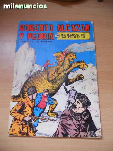 Cómic Roberto Alcazar Y Pedrin
