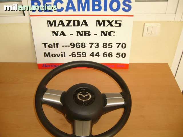VOLANTE CON AIRBAG MAZDA MX5 NC RC - foto 1