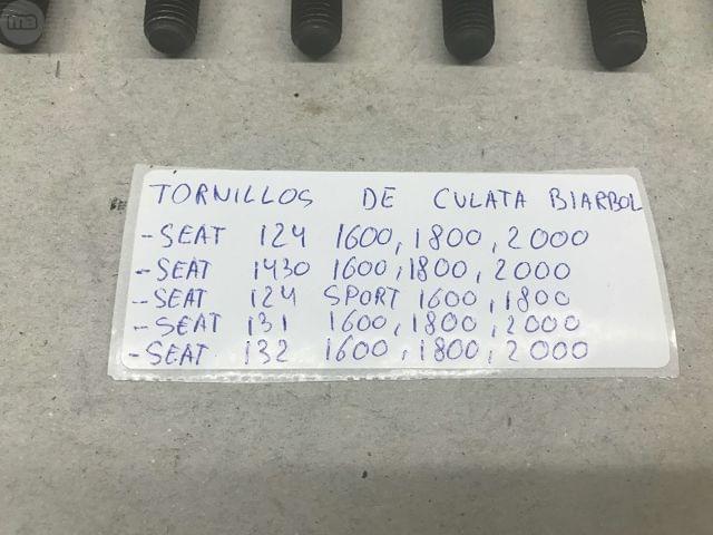 TORNILLOS DE CULATA SEAT 124 1. 6/1. 8/2. 0 - foto 3