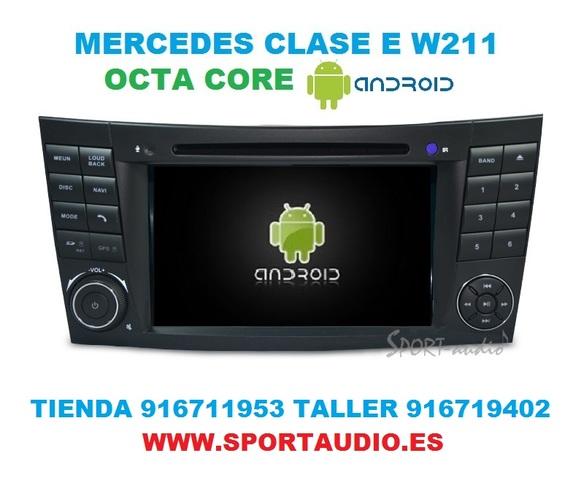 RADIO ANDROID NAVEGADOR MERCEDES  E W211 - foto 3