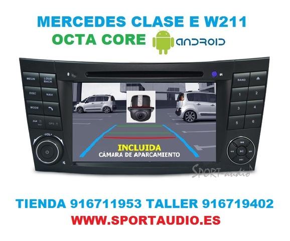 RADIO ANDROID NAVEGADOR MERCEDES  E W211 - foto 2