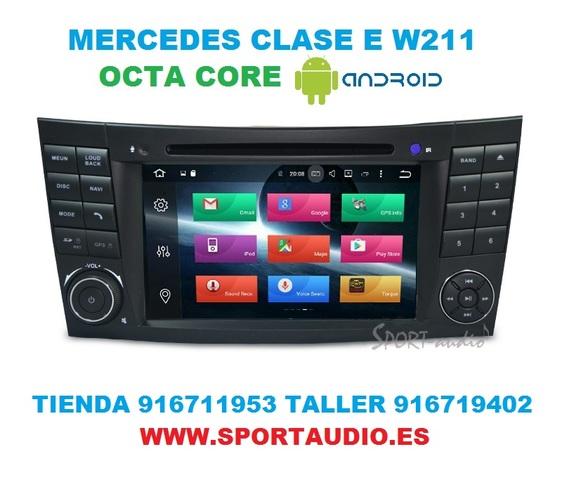 RADIO ANDROID NAVEGADOR MERCEDES  E W211 - foto 6