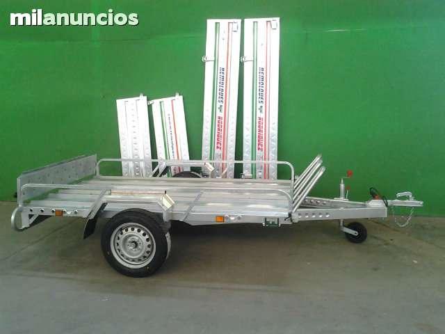 REMOLQUES MIXTOS DE CARGA Y MOTOS