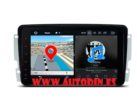 RADIO GPS ANDROID CLASE C W203 00-04 - foto 1