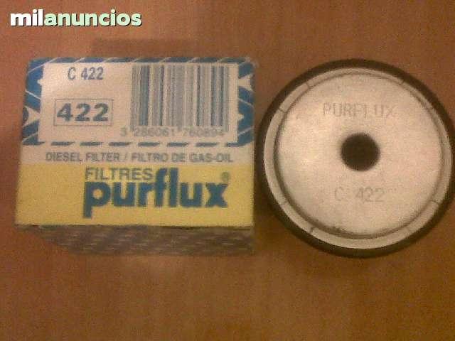 FILTRO GASOIL C 422 PARA PEUGEOT, CITROEN - foto 1