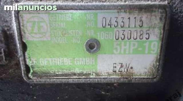CAJA CAMBIOS AUDI 2. 5 5HP-19 EZW - foto 2
