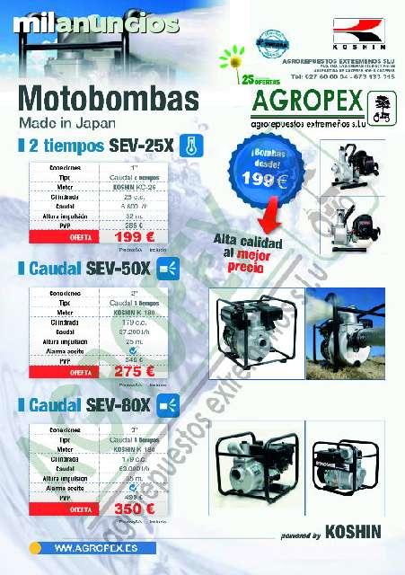 MOTOBOMBA DE GRAN CALIDAD KOSHIN - foto 2