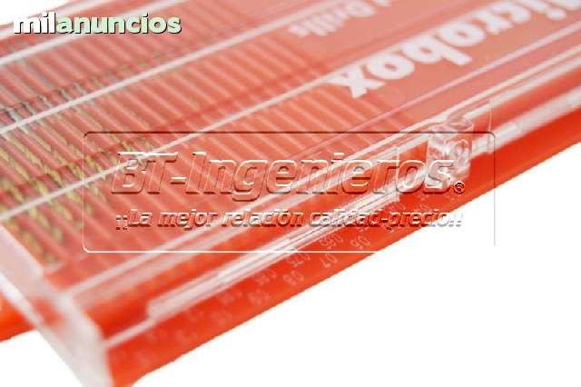 JUEGO DE 20 MINI BROCAS HSS 0. 3 A 1. 6 MM - foto 2