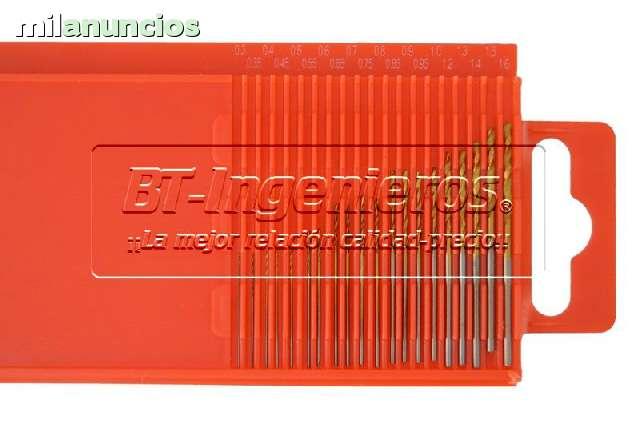 JUEGO DE 20 MINI BROCAS HSS 0. 3 A 1. 6 MM - foto 3