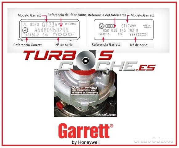 TURBOS NUEVOS ORIGINALES GARRETT BARATOS - foto 2