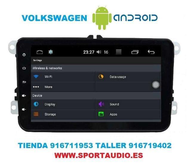 NAVEGADOR RADIO DVD VW ANDROID - foto 4
