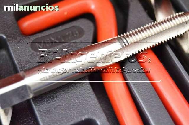 KIT PROFESIONAL REPARADOR ROSCAS 170PZ - foto 4