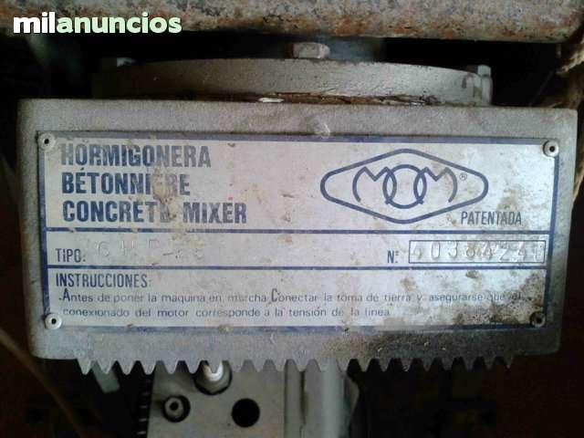 HORMIGONERA CON MOTOR - foto 6