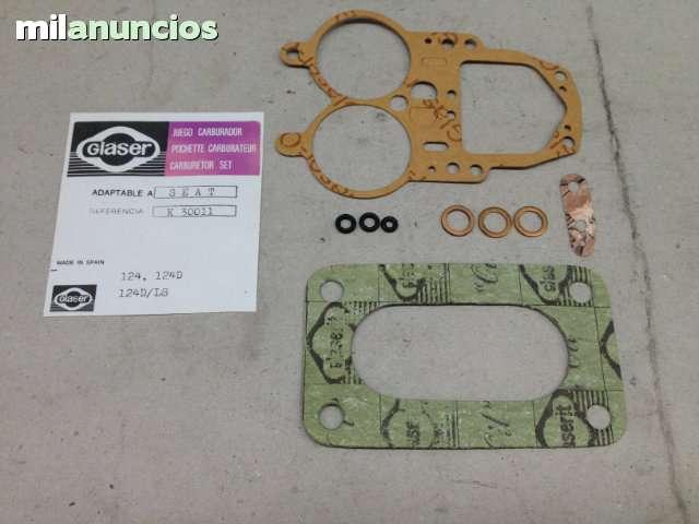 JUEGO DE JUNTAS CARBURADOR SEAT 124 - foto 2