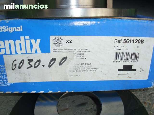 DISCOS FRENO BENDIX 561120B SEAT - foto 2