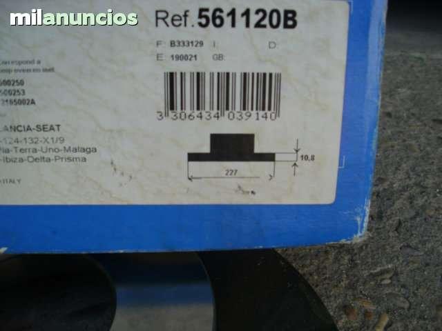 DISCOS FRENO BENDIX 561120B SEAT - foto 3
