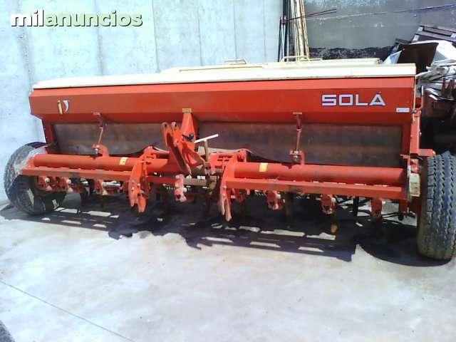 SEMBRADORA CEREAL MARCA SOLA - foto 1