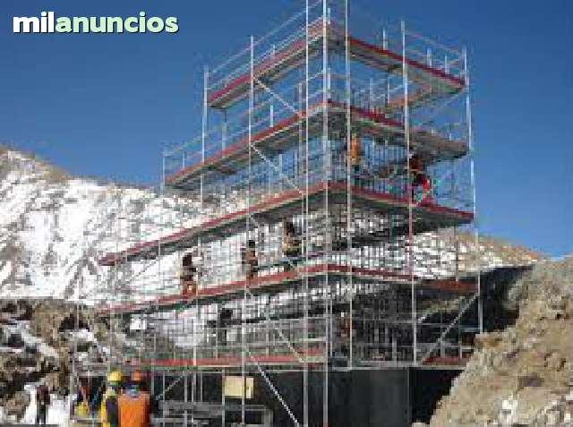 ANDAMIOS/ ESCENARIOS/ PLATAFORMAS - foto 1