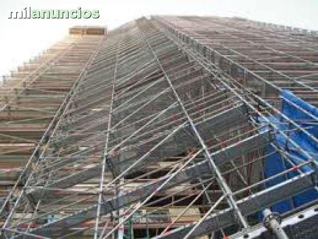 ANDAMIOS ESCENARIOS PLATAFORMAS PASARELA - foto 1