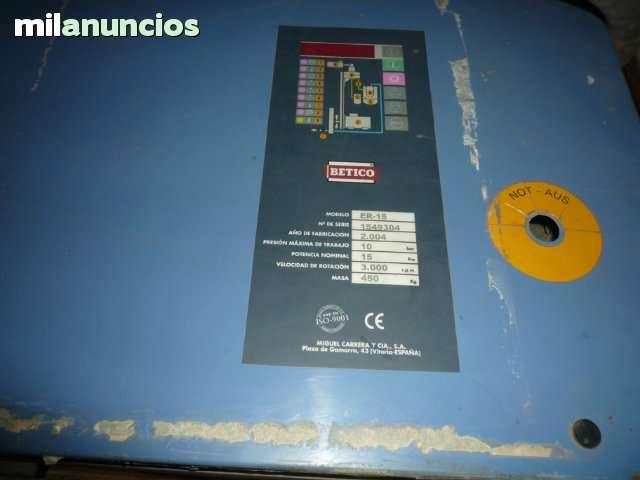 COMPRESOR DE AIRE (BETICO) DE 15 CV TORN - foto 3