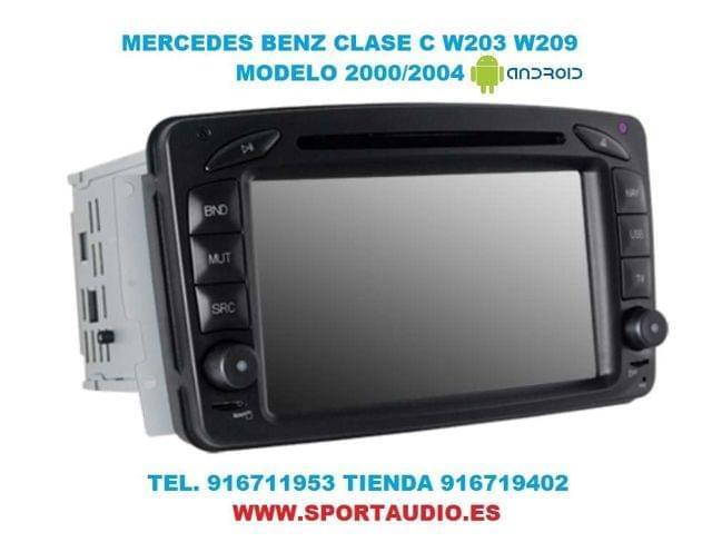RADIO DVD MERCEDES W203 ANDROID - foto 3