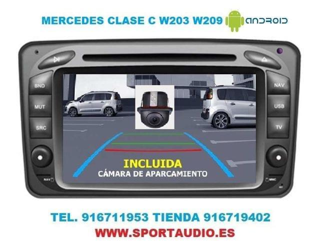 RADIO DVD MERCEDES W203 ANDROID - foto 8