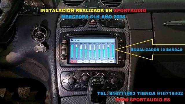 RADIO DVD MERCEDES W203 ANDROID - foto 9