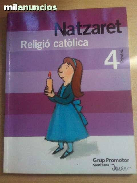RELIGION CATOLICA SANTILLANA 4 PRIMARIA