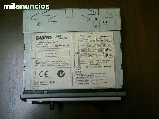 CASSETTE CAR SANYO - foto 4