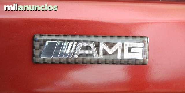 ANAGRAMA LOGO AMG CARBONO MERCEDES BENZ - foto 1