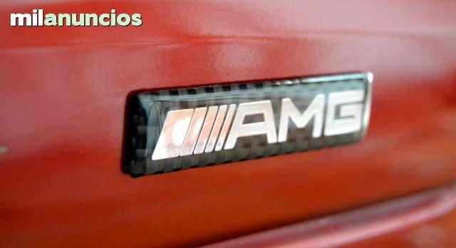 ANAGRAMA LOGO AMG CARBONO MERCEDES BENZ - foto 2