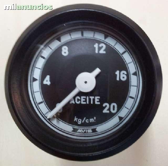 RELOJ PRESIÓN ACEITE 60MM 0-20 KG - foto 1