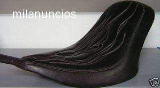 ASIENTO SOLO CHOPPER - MODELO BLACK JACK - foto 2