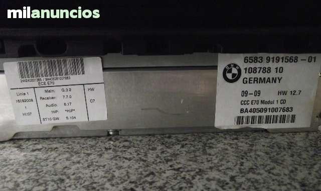 NAVEGADOR PROFESSIONAL CCC BMW E70 Y E71 - foto 6