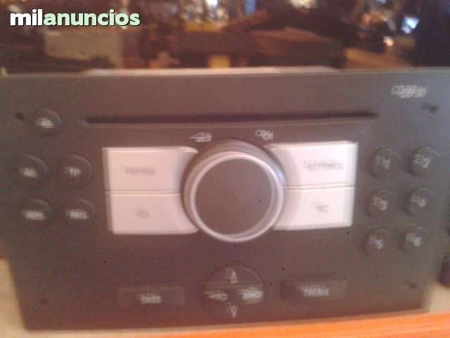 RADIO CD MP3 OPEL VECTRA - foto 1