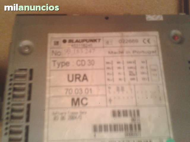 RADIO CD MP3 OPEL VECTRA - foto 3