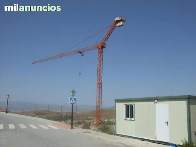 ALQUILER DE GRÚAS TORRE Y AUTOMONTANTES - foto 3