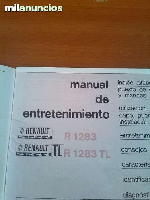 MANUAI RENAULT 7 T L - foto 1