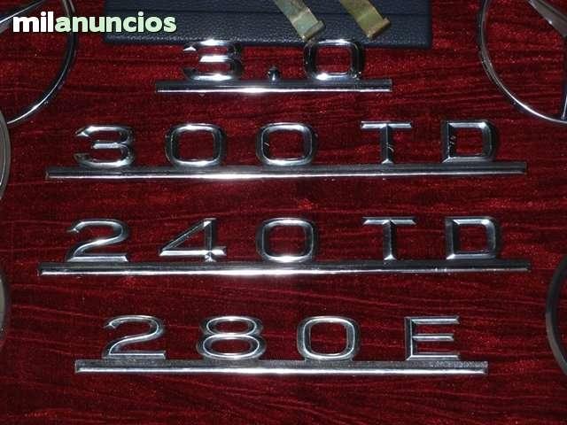 MERCEDES  W123 240TD LOGO TRASERO - foto 1