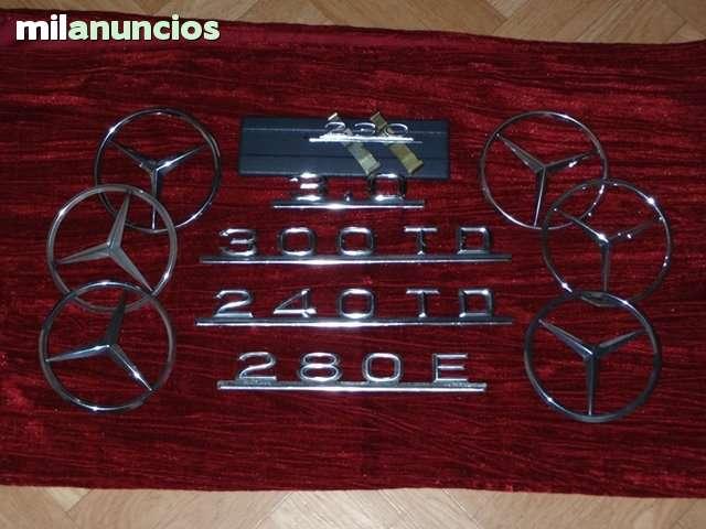 MERCEDES  W123 240TD LOGO TRASERO - foto 2