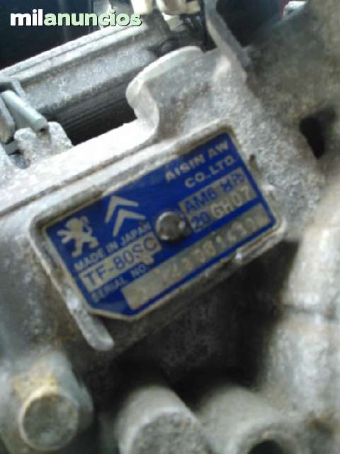 CAJA CAMBIOS AUTOMATICA PEUGEOT 407 V6 - foto 2