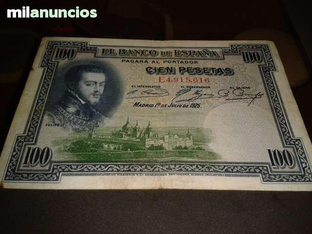 Billete De Cien Pesetas 1928 Felipeii